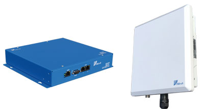 External-grade iMesh router